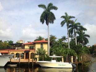 A Las Olas waterfront home